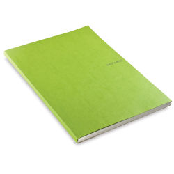 Fabriano EcoQua Notebook - 11.7'' × 8.25'', Dot, Gluebound, Lime