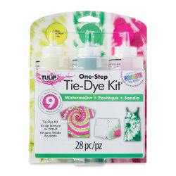 Tulip One-Step Tie-Dye Kit - Watermelon, Set of 3 Colors