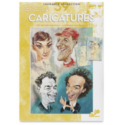 Leonardo Collection Caricatures, Book Cover