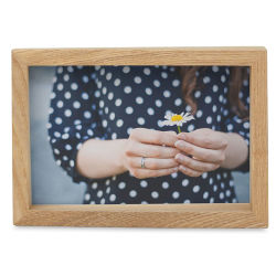 Umbra Edge Wood Picture Frame - 4'' x 6''
