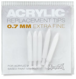 Montana Acrylic Marker Replacement Nib - 0.7 mm Tip, Pkg of 5