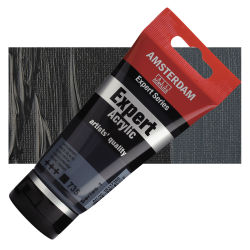 Amsterdam Expert Series Acrylics - Oxide Black, 75 ml tube