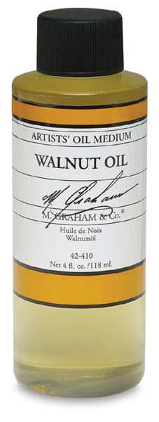 M. Graham Walnut Oil Medium - Walnut Oil Medium, 4 oz bottle