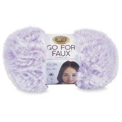 Lion Brand Go For Faux Yarn - Violet Starling, 64 yds
