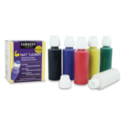 Sargent Paint Daubers, Set of 6 Washable Colors