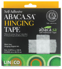 Abaca Self-Adhesive Hinging Tape, Roll