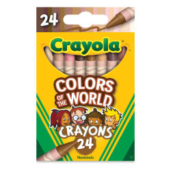 Crayola Colors of the World Crayons - Set of 24