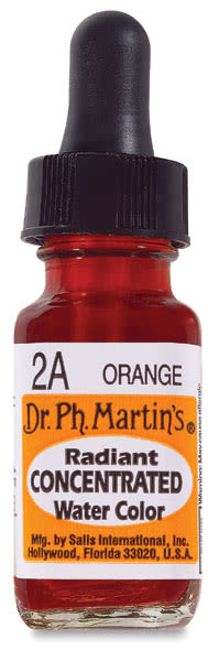 Dr PH Martins Watercolor Orange