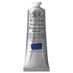 Winsor & Newton Professional Acrylics - Phthalo Blue Red Shade, 60 ml tube