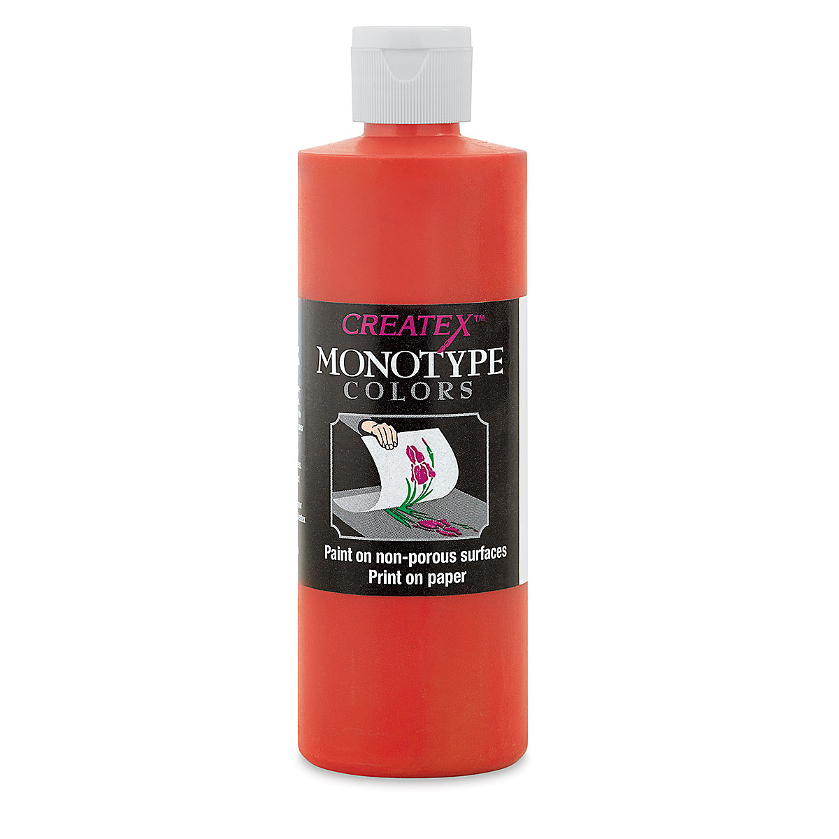 Createx Monotype Colors - Scarlet, 8 oz bottle
