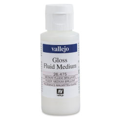 Vallejo Acrylic Fluid Medium - Gloss, 60 ml