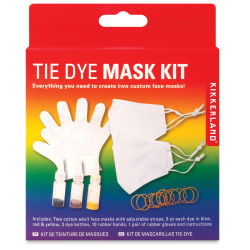 Kikkerland Tie Dye Mask Kit, packaging