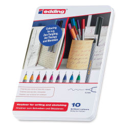 Edding 55 Fineliner Pens, Set of 10