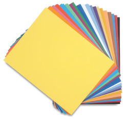 Canson Colorline Art Paper - 19'' x 25'', 150 gsm, Black