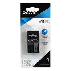 X-Acto Replacement Blades - No. 11, Pkg of 15, Safety Dispenser