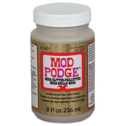 Mod Podge Mega Glitter - Gold, 8 oz