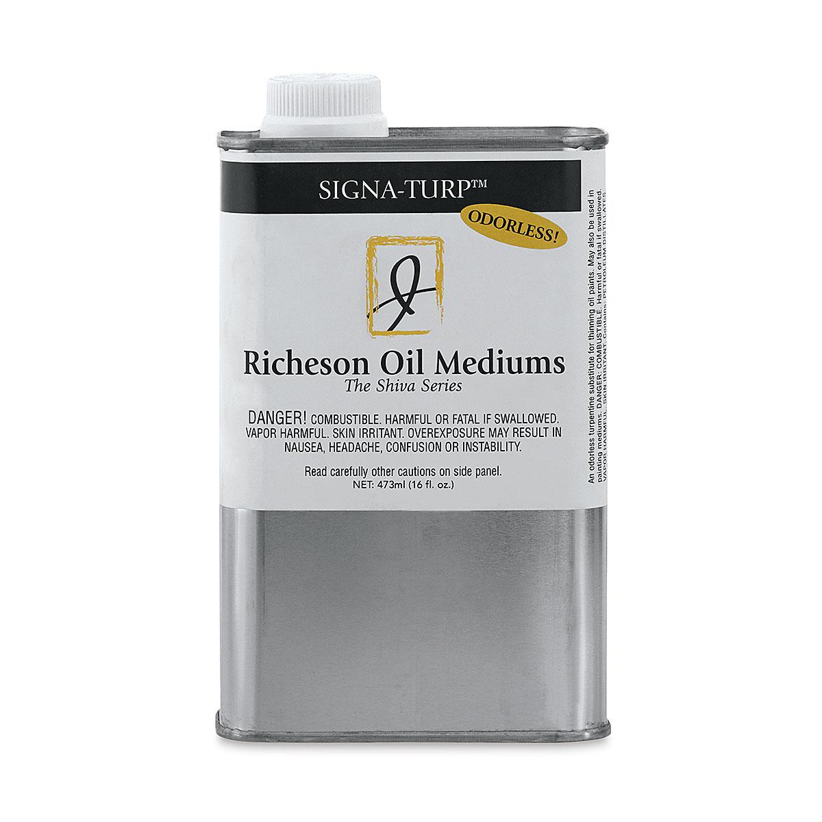 Shiva Signa-Turp Odorless Thinner - 16 oz Bottle