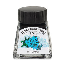 Winsor & Newton Drawing Ink - Cobalt, 14 ml