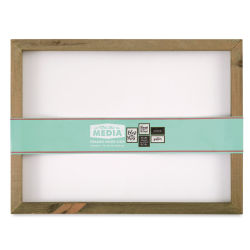 Hampton Art Mix the Media Framed Board - White Panel, 12'' x 16''