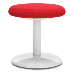 OFM Orbit Stool - Red Fabric, Active, 14''