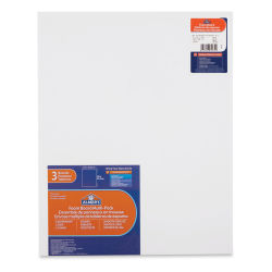 Elmer's Pre-Cut Foamboard - 16'' x 20'' x 3/16'', White, Pkg of 3 Sheets
