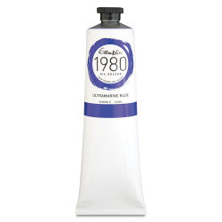 Gamblin 1980 Oils - Ultramarine Blue, 150 ml tube