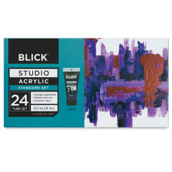 Blick Studio Acrylics - Set of 24 colors, 21 ml tubes