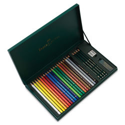 Faber-Castell Polychromos Pencil Set - Gift Set of 24