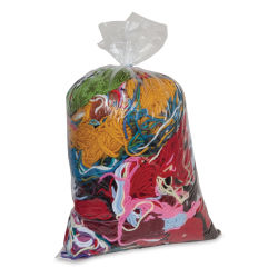 Pacon Remnant Yarn Bag - 1 lb, Assorted Colors