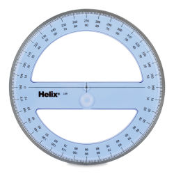 Helix Full Circle Protractor - 6''