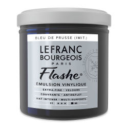 Lefranc & Bourgeois Flashe Vinyl Paint - Prussian Blue Hue, 125 ml jar