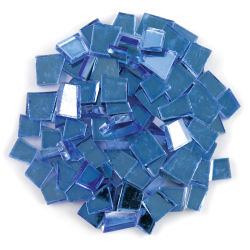Crafter's Cut Pre-Cut Mirror Tiles - Royal, 8 oz