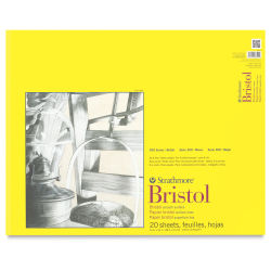 Strathmore 300 Series Bristol Pad - 19'' x 24'', Smooth, 20 Sheets