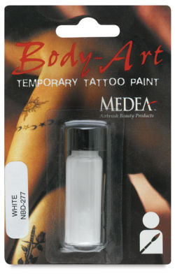 Medea Body-Art Hand Painted Colors - White, 1 dram