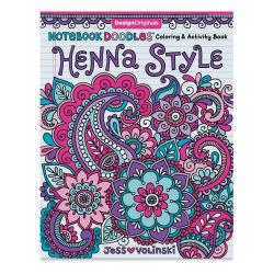 Notebook Doodles Coloring & Activity Book -Henna Style