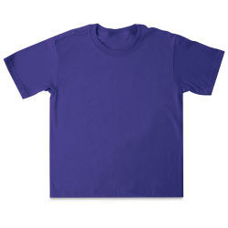 First Quality 50/50 T-Shirts, Youth Sizes - Purple Small (6-8)