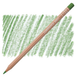 Caran d'Ache Luminance Colored Pencil - Chromium Oxide Green