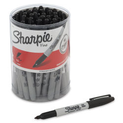Sharpie Fine Point Marker Set - Class Pack, Set of 36, Black