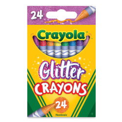 Crayola Glitter Crayons - Set of 24