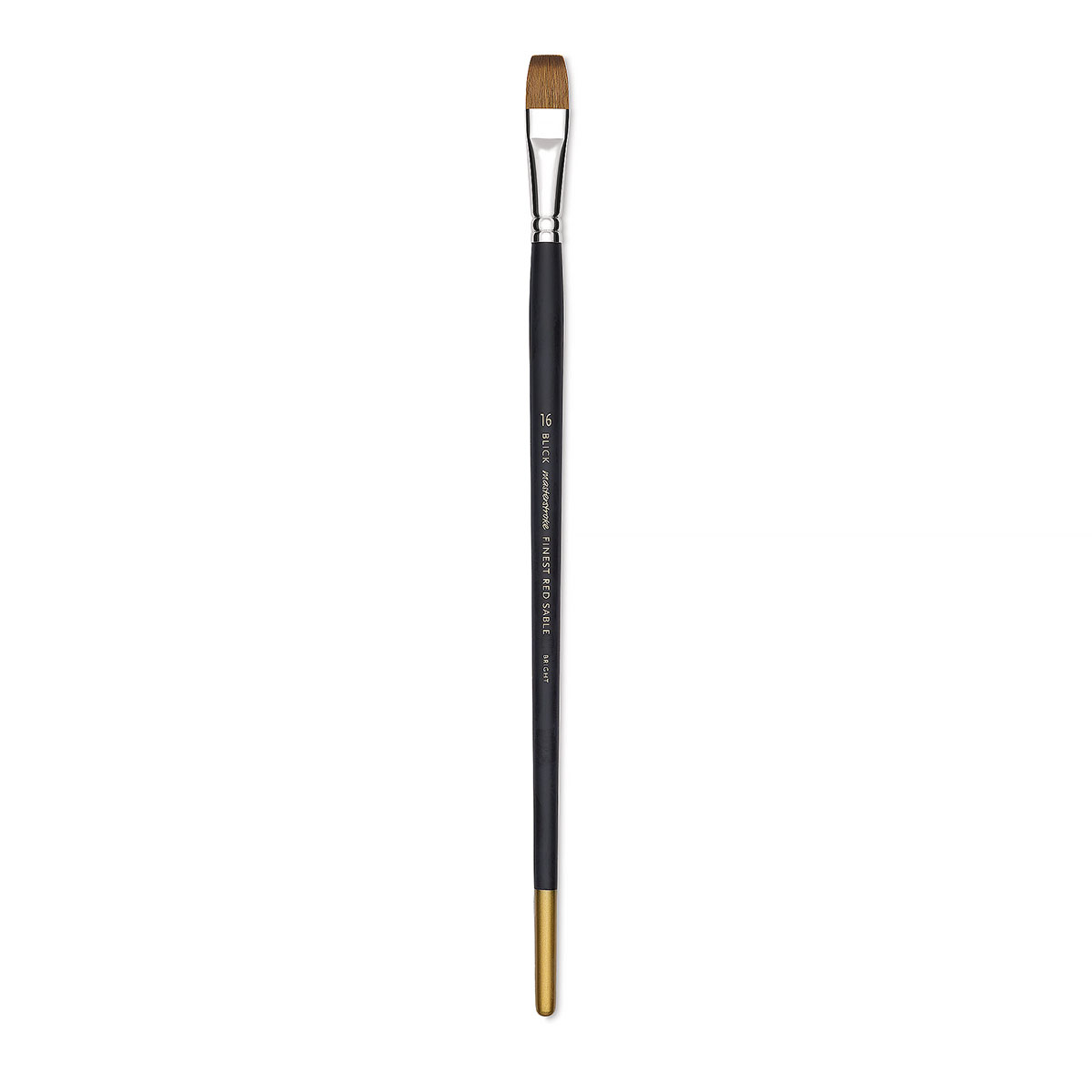 Blick Masterstroke Finest Red Sable Brush - Bright, Size 16, Long Handle