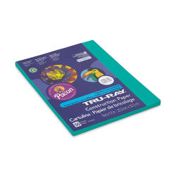 Pacon Tru-Ray Construction Paper - 9'' x 12'', Turquoise, 50 Sheets