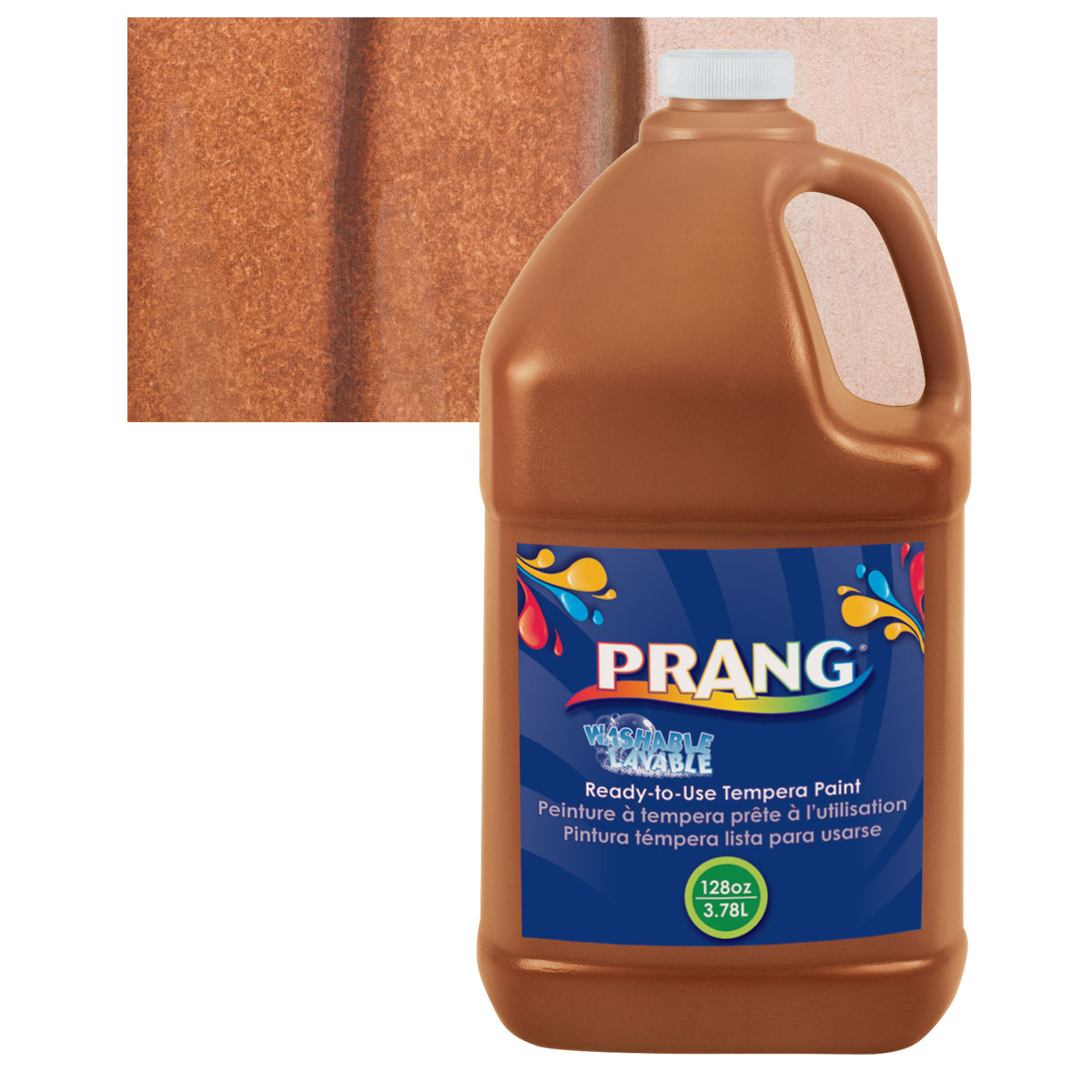 Prang Ready-To-Use Washable Tempera Paint - Brown, Gallon
