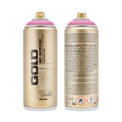 Montana Gold Acrylic Professional Spray Paint - Shock Pink Ligh, 400 ml can