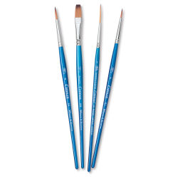 Winsor & Newton Cotman Watercolor Brush Set - Set A, Set of 4, Short Handle