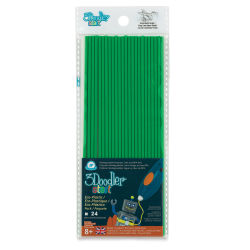 3Doodler Start EDU Refill Strands - Green, Pkg of 24