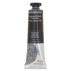 Sennelier Artists' Extra Fine Oil Paint - Cassel Earth, 40 ml tube