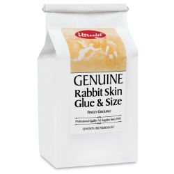Utrecht Rabbit Skin Glue & Size - 1 lb bag