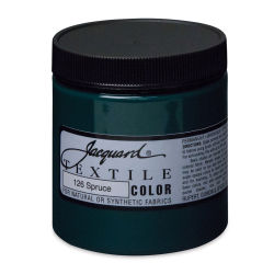 Jacquard Textile Color - Spruce, 8 oz jar