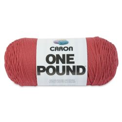 Caron One Pound Acrylic Yarn - 1 lb, 4-Ply, Rose