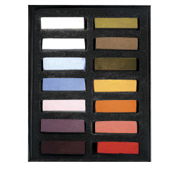 Terry Ludwig Soft Pastels - Best Loved Basics, Set of 14